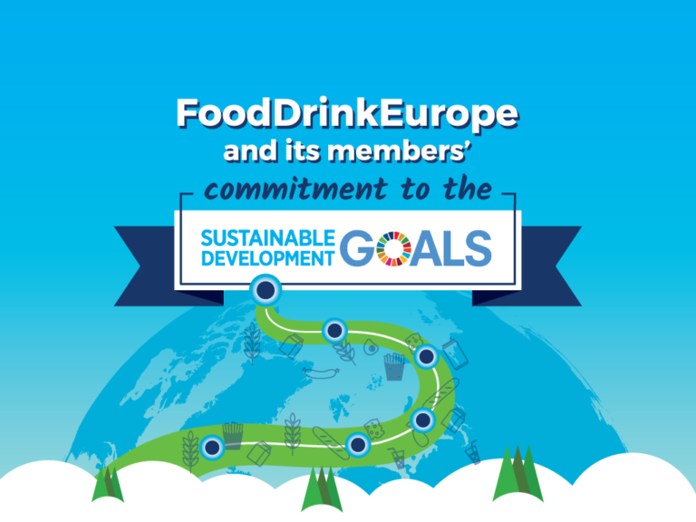FoodDrinkEurope and its members' commitment to the UNSDGs