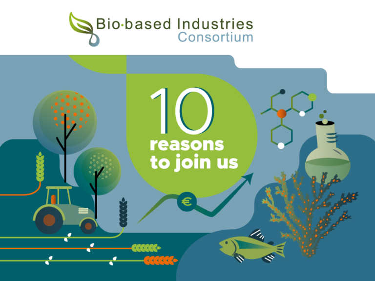 10 reasons to join the Bio-based Industries Consortium (BIC)