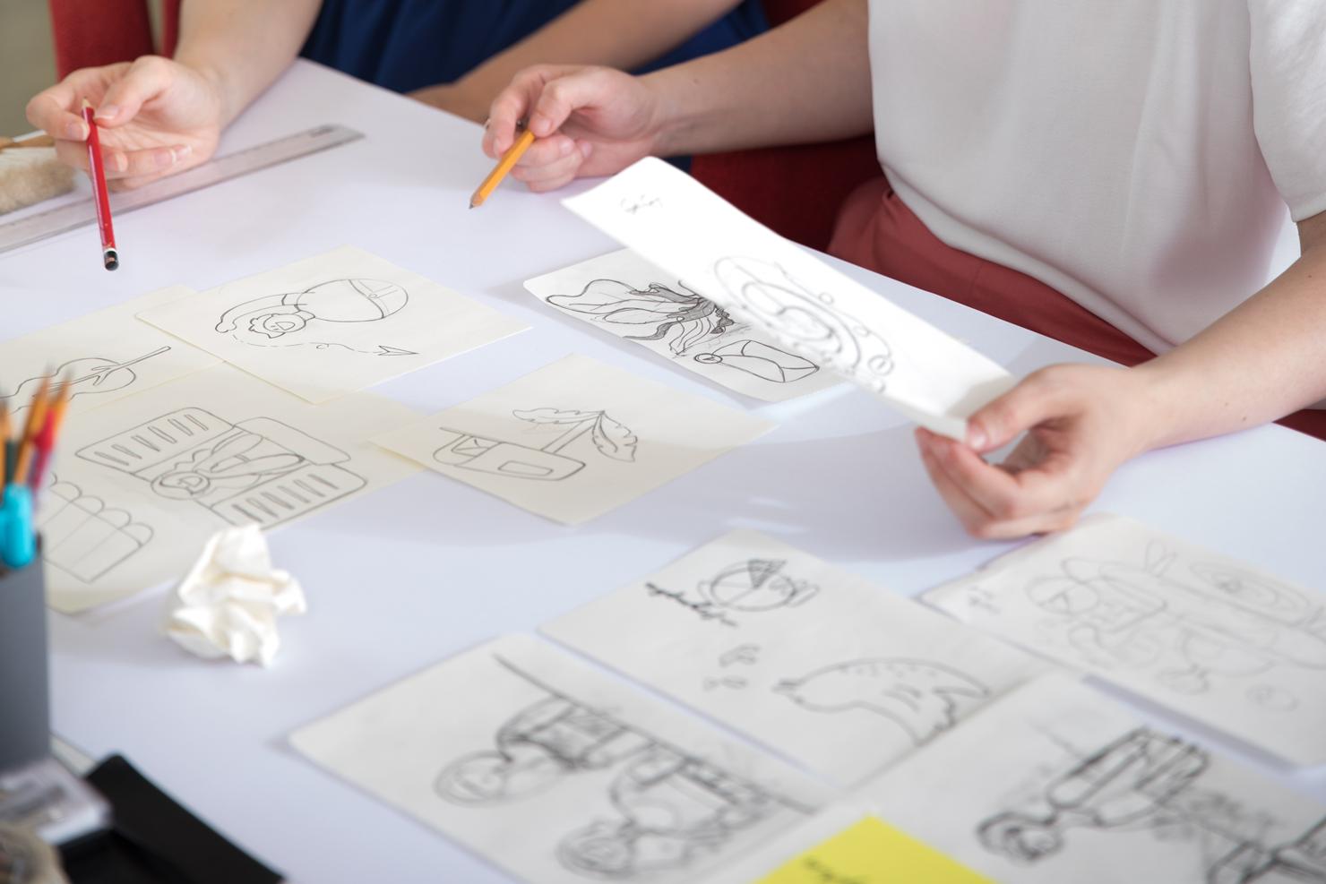 drawing illustrations
