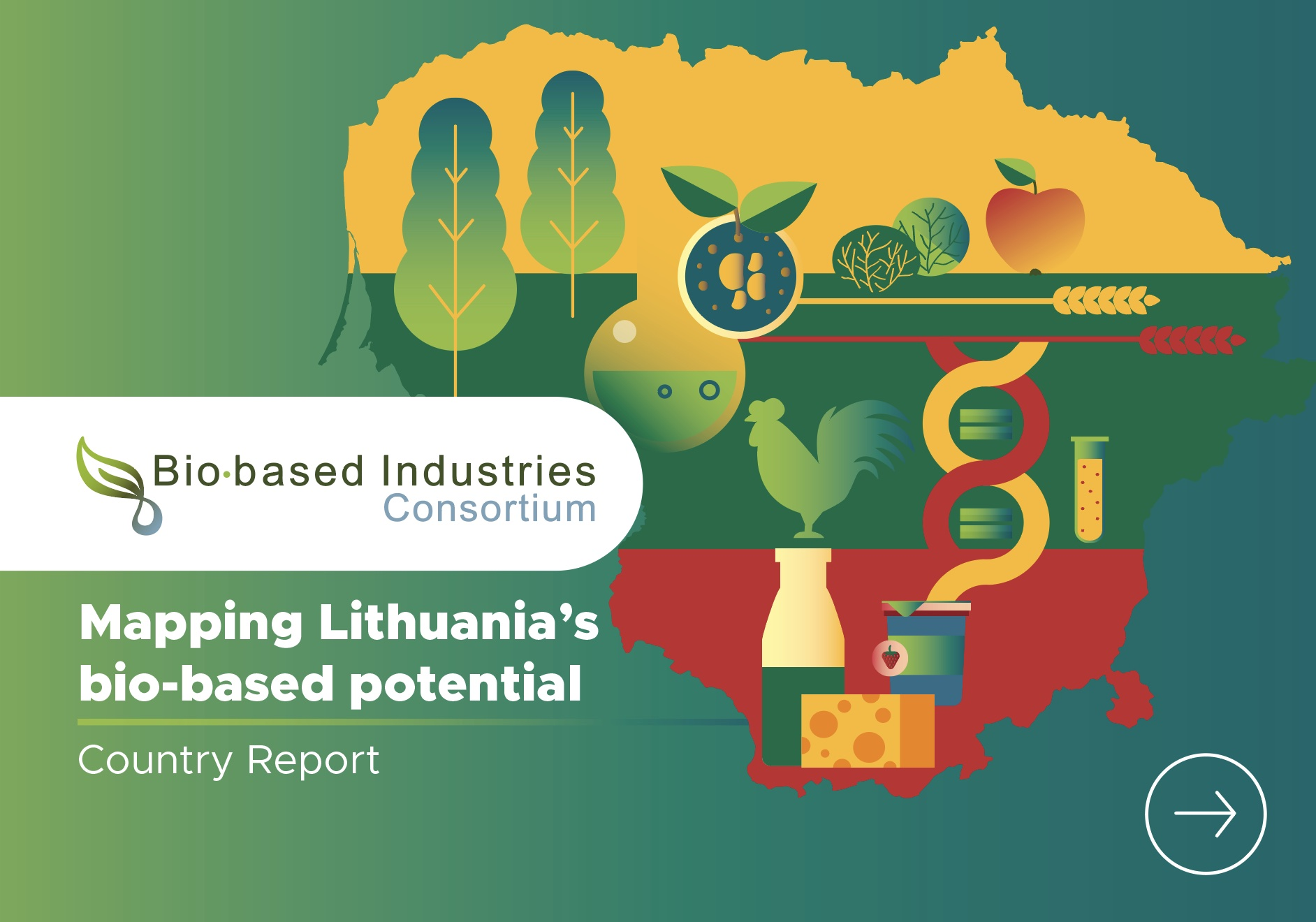 Mapping Lithuania's bio-based potential